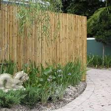 Rolled Bamboo Fence W Copper Wire Bamboo Garden Fences Bamboo Garden Bamboo Fence