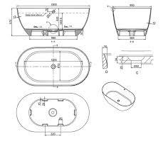 Byron 1500mm Stone Bath | ABL Tile