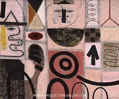 The Seer Painting By Adolph Gottlieb - Reproduction Gallery