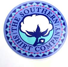 Amazon Com Southern Shirt Authentic The Company Usa Ssco 4 Round Cotton Preppy Vinyl Sticker Decal Southern Proper Murica Purple Tribal Automotive