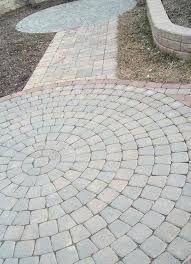 patio paver plans round paver patio