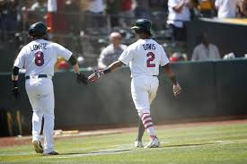 The thing the A's do better than anyone and what Khris Davis and ...