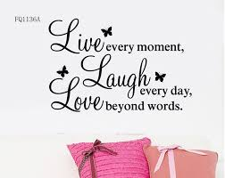 Details About Live Laugh Love Wall Quote Stickers Removable Vinyl Decal Home Art Decoration In Wall Stick Nursery Wall Stickers Custom Wall Decal Sticker Decor
