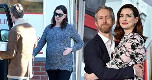 Pregnant Anne Hathaway new pictures out with husband Adam Schulman | Metro  News