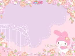 48 my melody wallpaper on wallpapersafari