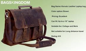 leather laptop bags and backpacks