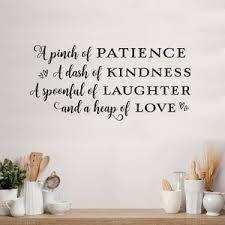 A Pinch Of Patience A Dash Of Kindness A Spoonful Of Etsy