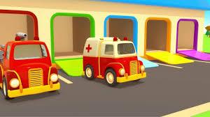 Dessin Anime Educatif De Vehicules D Assistance Episode 3 La Course Youtube