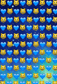 cats emoji galaxy hearts e stars