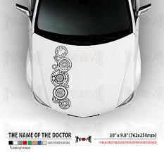 30 Name Of The Doctor Who In Gallifreyan Tardis Hood Car Vinyl Sticker Decal Ebay