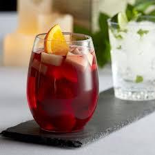 clear plastic stemless wine glass