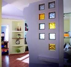 glass block wall design ideas adding