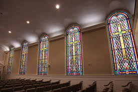 stained glass for church sanctuary