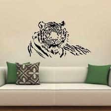Tiger Wall Decal Vinyl Art Diy Sticker Mural Zoo Safari Animal House Bedroom Living Room Decoration Wallpaper Home Poster Ww 192 Tiger Wall Decal Sticker Muraldecor Wallpaper Aliexpress