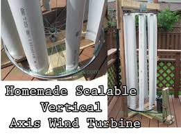 scalable vertical axis wind turbine