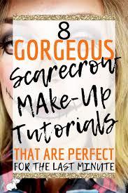 8 easy scarecrow makeup tutorials that