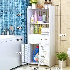plastic board bathroom storage cabinet