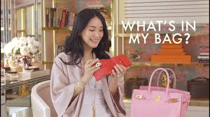 what s in my bag heart evangelista