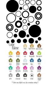 Sheet Of Circles And Dots Vinyl Wall Sticker