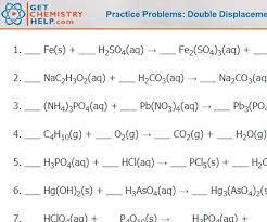 chemistry practice problems balancing