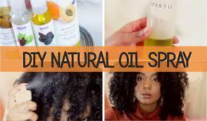 diy natural oil spray for dry hair