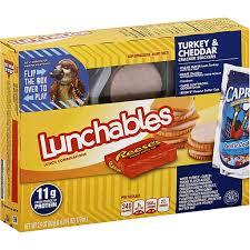 oscar mayer lunchables turkey cheddar
