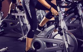 indoor interval cycling workout for the
