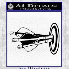Archery Target Decal Sticker Bullseye A1 Decals