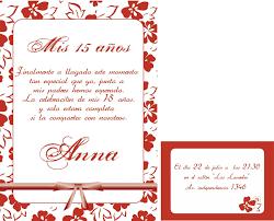 Tarjetas De Invitacion Cumpleanos 15 Anos Para Imprimir Gratis En