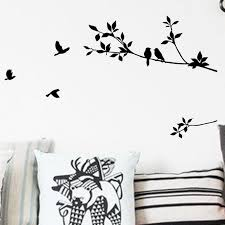 Black Bird Tree Branch Wall Decal Self Expressions Decals More