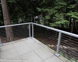 Issaquah Cable Railing Photos Mba Deck And Fence