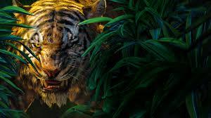 jungle book shere khan 5k 4k wallpaper