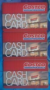 costco cash card gift card 0 zero