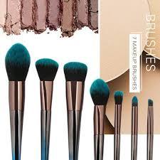 7pcs cosmetic makeup brush blusher eye