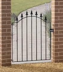 warwick single metal garden gate