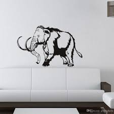 Mammoth Elephant Wall Stickers Home Decor Living Room Wild Animals For Home Sofa Background Kids Room Vinyl Wall Sticker Wall Decals For Nursery Wall Decals For Sale From Joystickers 14 2 Dhgate Com