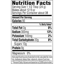 gatorade endurance formula powder