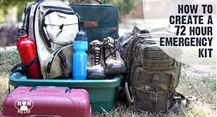 create a 72 hour emergency kit free