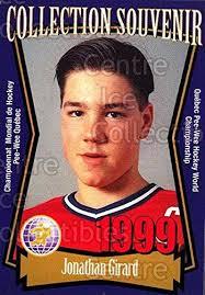 Amazon.com: (CI) Jonathan Girard Hockey Card 1999 Quebec Pee-Wee ...