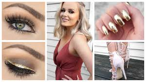 formal makeup outfit hair get