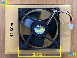 Quạt Tủ Lạnh Sharp 4 Dây ( Đỏ-Đen-Trắng-Vàng ) - Điện Máy Minh Khang