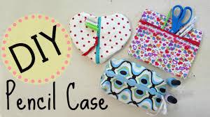 diy pencil case makeup bag no sew