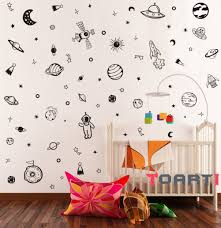 Solar System Vinyl Wall Decal Stickers Ebay Large Design Amazon Removable Target Vamosrayos