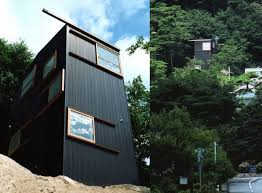 slope house japan mountainside