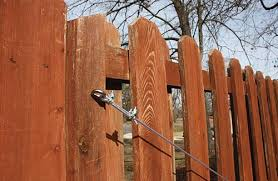 Stabilize A Leaning Fence Extreme How To