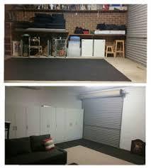 ideas to hide garage door