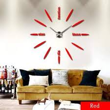 Tac City Goods Co 3d Acrylic Wall Clock Decal