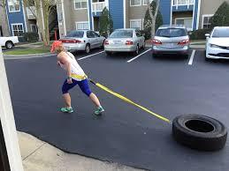 diy tire sled pull under 30 camy kennedy