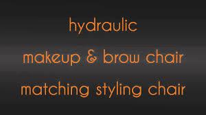 hydraulic makeup chairs salon styling