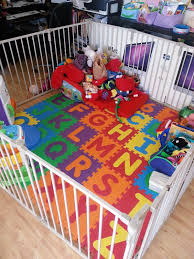 The Play Area Containing The Kiddie Tornado Toddler Play Area Kids Play Area Baby Play Areas